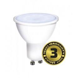 Solight LED žiarovka, bodová , 7W, GU10, 6000K, 500lm, biela WZ325A