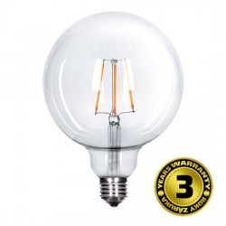 Solight LED žiarovka retro, Globe G125, 8W, E27, 3000K, 360°, 810lm WZ523