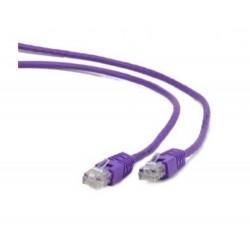 OEM patch kábel Cat5E, UTP - 1m , fialový PKOEM-UTP5E-010-VL