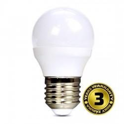 Solight LED žiarovka, miniglobe, 6W, E27, 3000K, 420lm WZ412