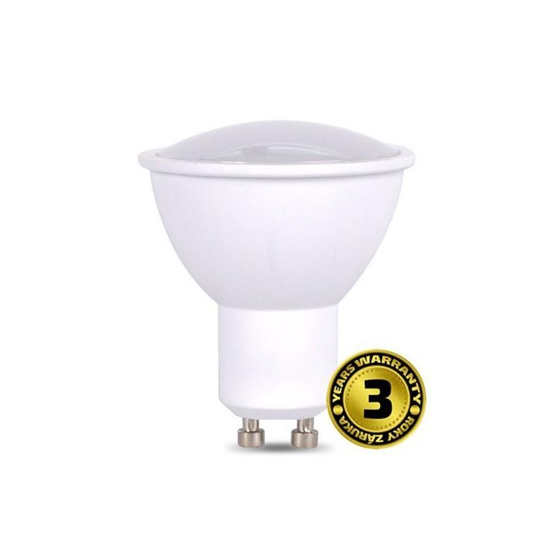 Solight LED žiarovka, bodová , 5W, GU10, 3000K, 400lm, biela WZ316A