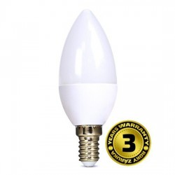 Solight LED žiarovka, sviečka, 6W, E14, 4000K, 450lm WZ410
