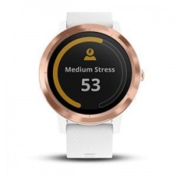 Garmin vívoactive 3, White Silicone, Rose Gold 010-01769-07