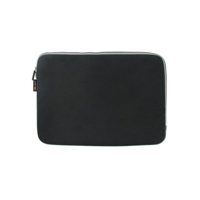 Solight neoprénové puzdro na notebook, čierne, 15 - 16' 1N22