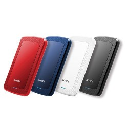 "A-DATA DashDrive™ Value HV300 2,5"" external HDD 1TB USB 3.1 red..."