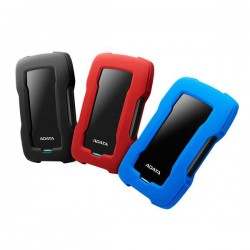 "A-DATA DashDrive™ Durable HD330 2,5"" external HDD 1TB USB 3.1 red AHD330-1TU31-CRD"