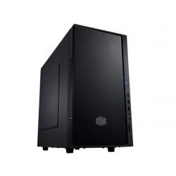 CoolerMaster case minitower Centurion Silencio 352 Matte, mATX, čierna-matná, USB3.0, bez zdroja, odhlučnená SIL-352M-KKN1