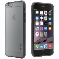 Cygnett, obal AeroShield Grey pre iPhone 6/6S, priehľadný, šedý lem CY1760CPAEG