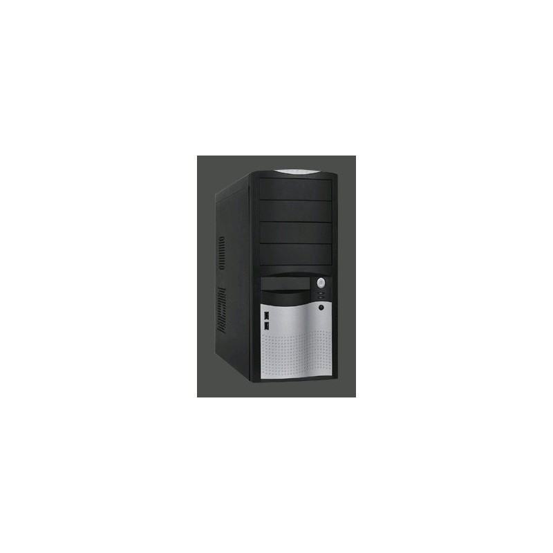 Eurocase ML-5410 ATX, USB3.0, čierna&strieb.,clip,bez zdroja ML5410CAROHO00