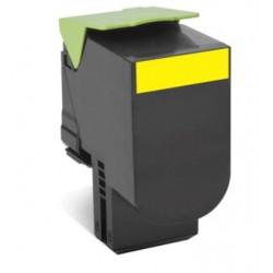 Lexmark 802HY CX410, CX510, Yellow High Yield Return Program Toner...
