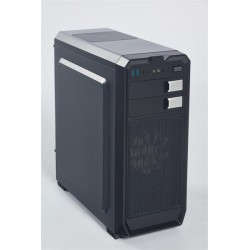 Eurocase ML X807 ATX, 2x USB 3.0, 2x USB 2.0, čierna, bez zdroja MLX807