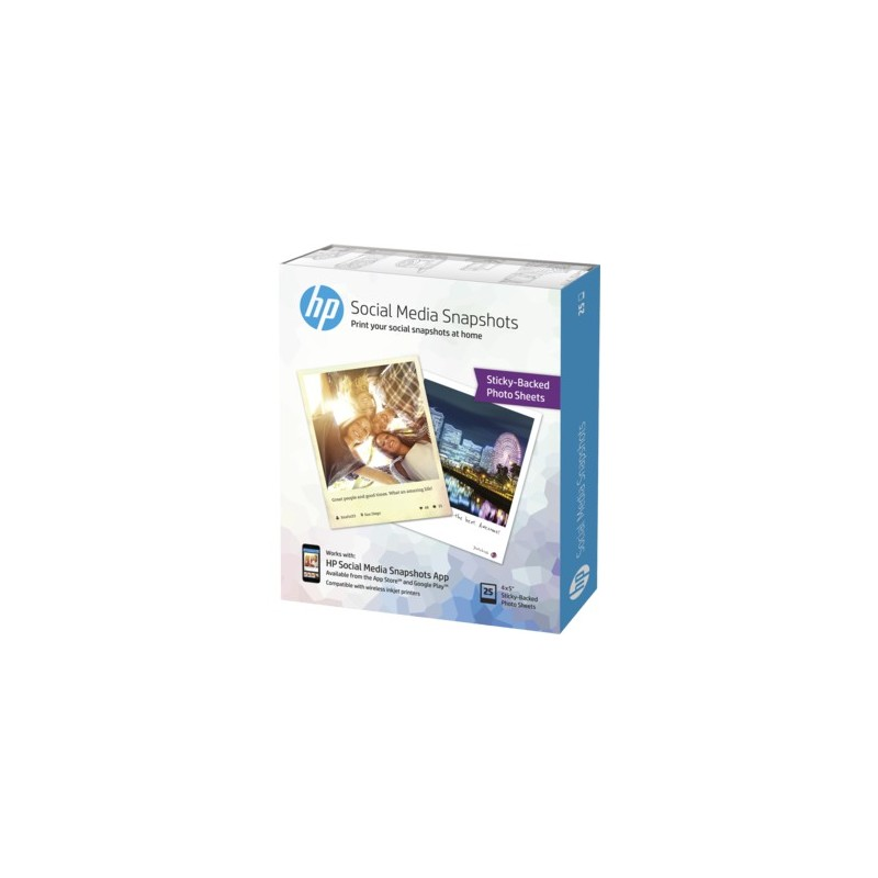 HP Social Media Snapshots, 10 x 13 cm W2G60A