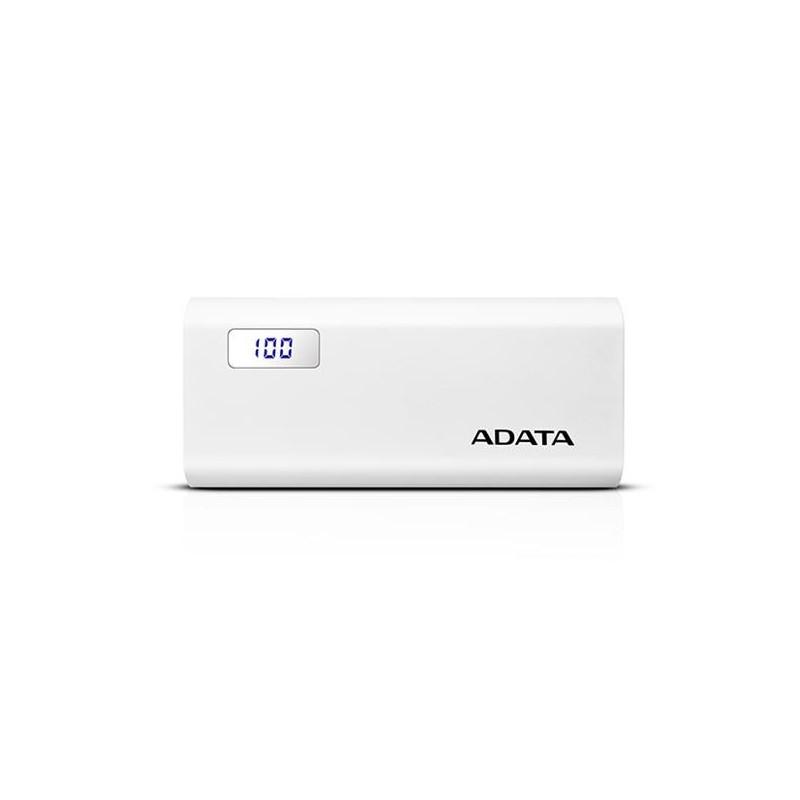 A-DATA Power Bank P12500D, 12500mAh, biely AP12500D-DGT-5V-CWH