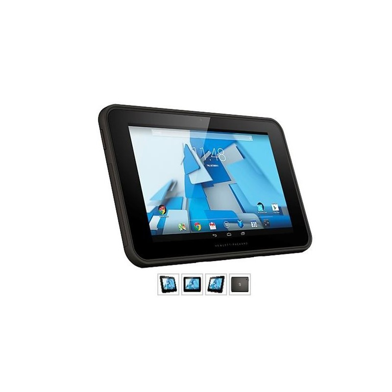 HP Pro Slate 10 EE G1, Z3735G, 10.1 WXGA Touch, 1GB, 16GB, abgn, BT, HSPA+, Android + stylus L2J95AA#BCM