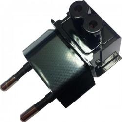 POWER ADAPTÉR EU PLUG čierny - redukcia pre EU elektr. sieť pre Asus adaptér B0A200-00020900