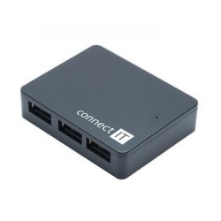 CONNECT IT USB 3.0 hub so 4 portami SKITCI170