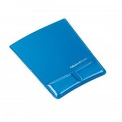 Fellowes Health-V™ Crystal podložka pod myš s opierkou zápästia, modrá 9182201