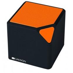 Canyon CNE-CBTSP2BO Bluetooth V2.1+EDR prenosný reproduktor, 3.5mm mini jack, microUSB, integr. akum. 300mAh, oranž