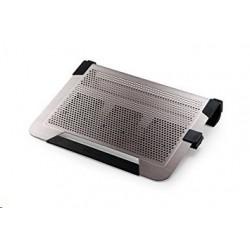 "chladiaci podstavec Coolermaster NotePal U2 PLUS pre notebooky 12-17"" titanium, 2x8cm ventilátor R9-NBC-U2PT-GP"