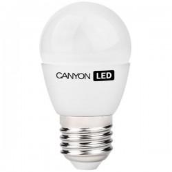 Canyon LED COB žiarovka, E27, kompakt guľatá, mliečna 3.3W, 262 lm, neutrál biela 4000K, 220-240V PE27FR3.3W230VN
