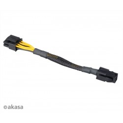 Akasa AK-CBPW10-15BK 4 pin to 8 pin ATX PSU adapter cable