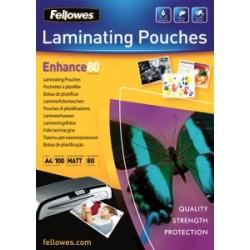 Fellowes Laminovacia fólia matná A4 (216x303), 80 mic, 100 ks 5452103