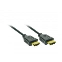 Solight HDMI kábel s Ethernetom, HDMI 1.4 A konektor - HDMI 1.4 A...