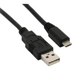 Solight USB kábel, USB 2.0 A konektor - USB B micro konektor, sáček, 1m SSC1301E