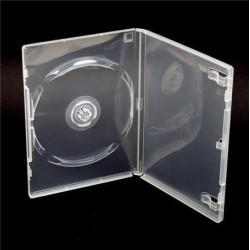 Box na 1 DVD, 14mm, priehľadný. SKITOBAL27048