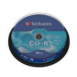 Verbatim - CD-R 700MB 52x 10ks v cake obale SKVERB43437S