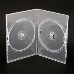 Box na 2 DVD, 14mm, priehľadný DA2CL. SK-9990376