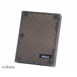"AKASA AK-HPC01-BK Flexstor H25, 2,5"" for SATA/SSD do 12,5mm, obal na disk"