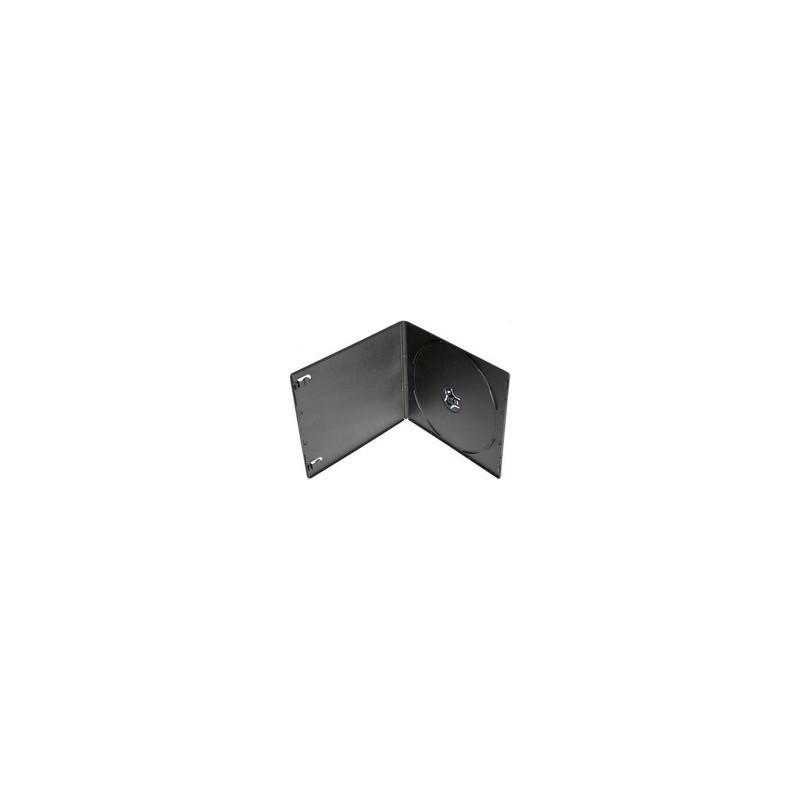 Box na 1 CD, alebo DVD medium. 5,2mm slim, čierny PP SKIT27017