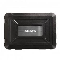 "Externý box pre 2,5"" SSD/HDD . USB 3.1 . BLACK . ADATA AED600U31-CBK"