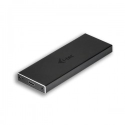 i-tec MySafe USB-C M.2 SATA Drive Metal External case 10Gbps C31MYSAFEM2