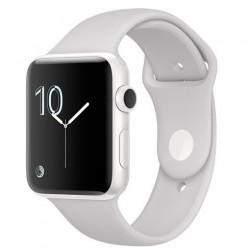 Apple Watch Edition, 42mm White Ceramic Case with Cloud Sport Band mnpq2cn/a