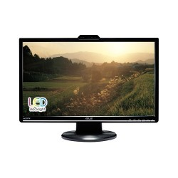 "ASUS VK248H 24""W LCD LED 1920x1080 Full HD 50.000.000:1 2ms 250cd DVI HDMI D-Sub Repro webcam čierny 90LMF5001Q01241C-"