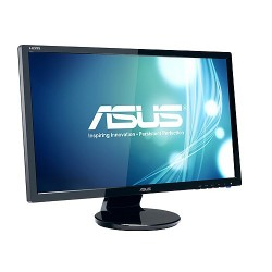"ASUS VE247H 24""W LCD LED 1920x1080 Full HD 10.000.000:1 2ms 300cd DVI HDMI D-Sub Repro čierny 90LMC2101Q01041C-"