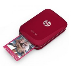 HP Sprocket Photo Printer - Red (5x7,6 cm, 40s/strana, BlueTooth) Z3Z93A#633