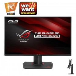 "ASUS PG279Q ROG SWIFT 27"" IPS 2560x1440 10mil:1 4ms 350cd DP HDMI 2xUSB3.0 Repro čierny 90LM0230-B01370"