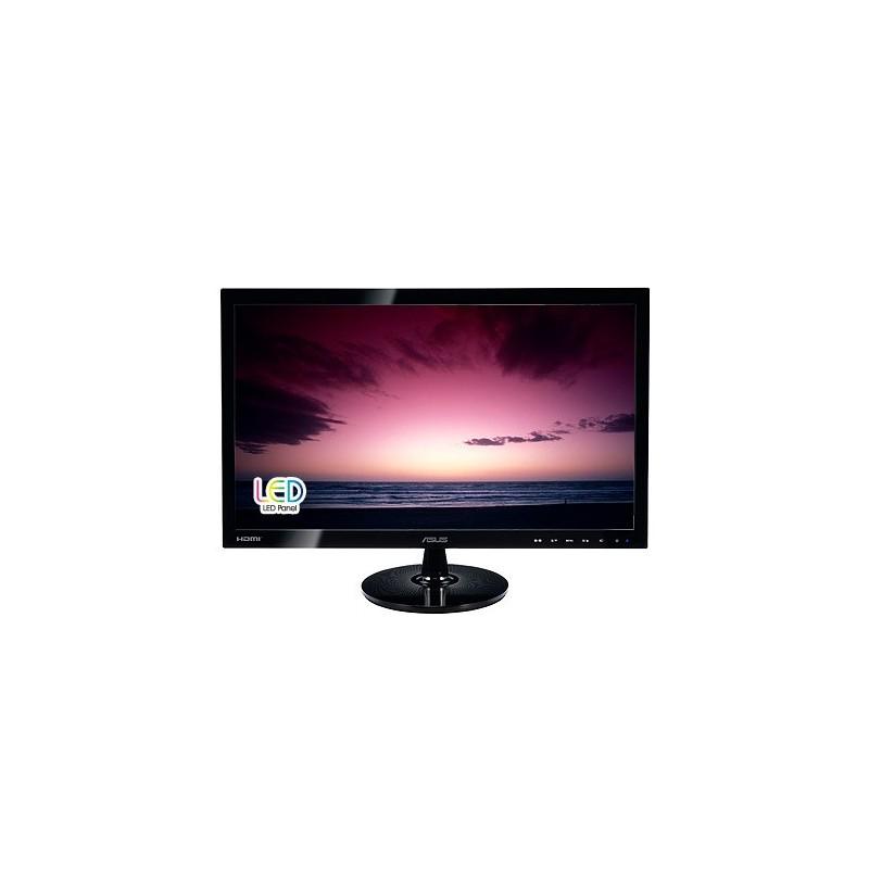 """ASUS VS248HR 24""""W LCD LED 1920x1080 Full HD 50.000.000:1 1ms 250cd DVI HDMI D-Sub čierny 90LME3001Q02231C-"""