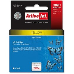 ActiveJet Ink cartridge Eps T0614 D68/D88/DX3800 Yellow - 13 ml AE-614 EXPACJAEP0198