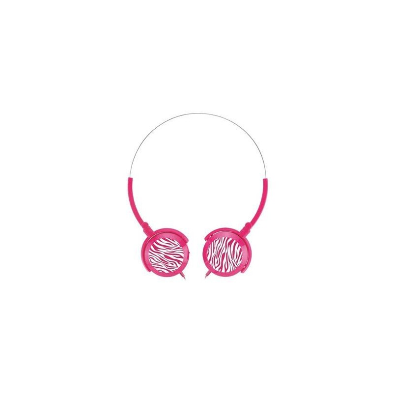 Genius sluchátka GHP-400F, skládací, růžové 31710036103