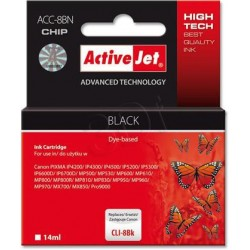 ActiveJet Ink cartridge Canon CLI-8 Bk WITH CHIP - 14 ml ACC-8Bk EXPACJACA0067