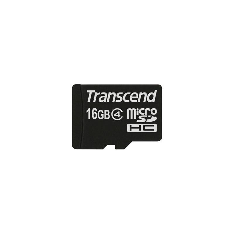 Transcend 16GB microSDHC (Class 4) paměťová karta (bez adaptéru) TS16GUSDC4