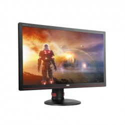 "AOC G2770PF 27""W LED 1920x1080 80 000 000:1 1ms 300cd HDMI DP DVI repro cierny"