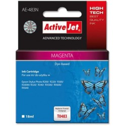 ActiveJet Ink cartridge Eps T0483 R200/R300 Magenta - 17 ml AE-483 EXPACJAEP0057