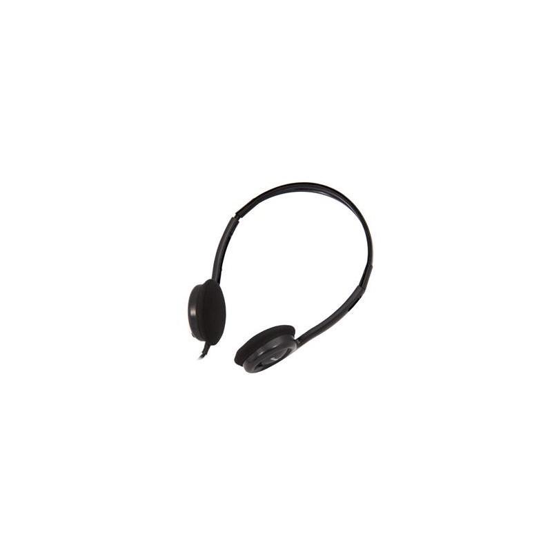 Genius headset - HS-M200C, sluchátka s mikrofonem single jack 31710151103
