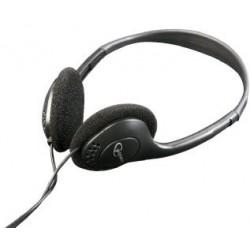 C-TECH sluchátka MHP-123, bez mikrofonu, černá SLU052228