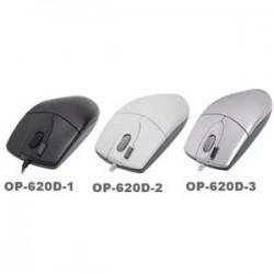 A4tech myš OP-620D, 2click, 1 kolečko, 3 tlačítka, USB, černá OP-620D BLACK USB